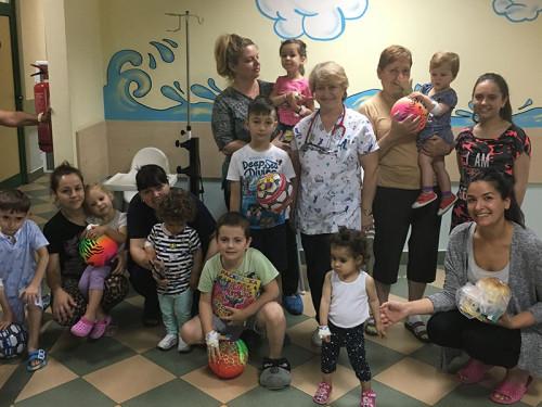 Отделението по детски болести на УМБАЛ